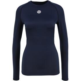 Skins Series-1 LS Top Women navy blue